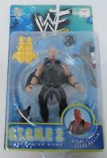 1998 WWF Jakks Stone Cold Steve Austin Figure WWE Wrestling MOC Stomp 2 WCW