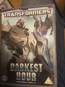 Transformers Prime Darkest Hour Season 2 Vol 4 DVD