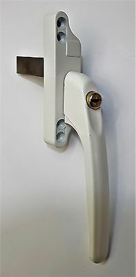 Winlock Odyssey Espag Window Handle White Right Hand Tongue Spade Drive Plate