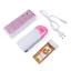 miniature 1 - Kit épilation à la cire 3 en 1 Machine chauffe-cire Roll on,Cartouche, bandes