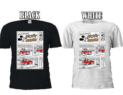 Humorvoll Walt Disney Quote Mickey Mouse Comic T-shirt Vest Tank Top Men Women Unisex 364 Grade Produkte Nach QualitäT