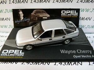 OPE138R-1-43-IXO-designer-serie-OPEL-collection-VECTRA-A-W-Cherry-silver