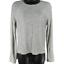 Fabletics-Gray-Long-Sleeve-Stretch-Shirt-Women-039-s-Size-Small miniatuur 1