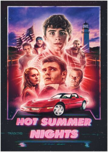 Hot Summer Nights Classic Movie Poster Art Print A0 A1 A2 A3 A4 Maxi