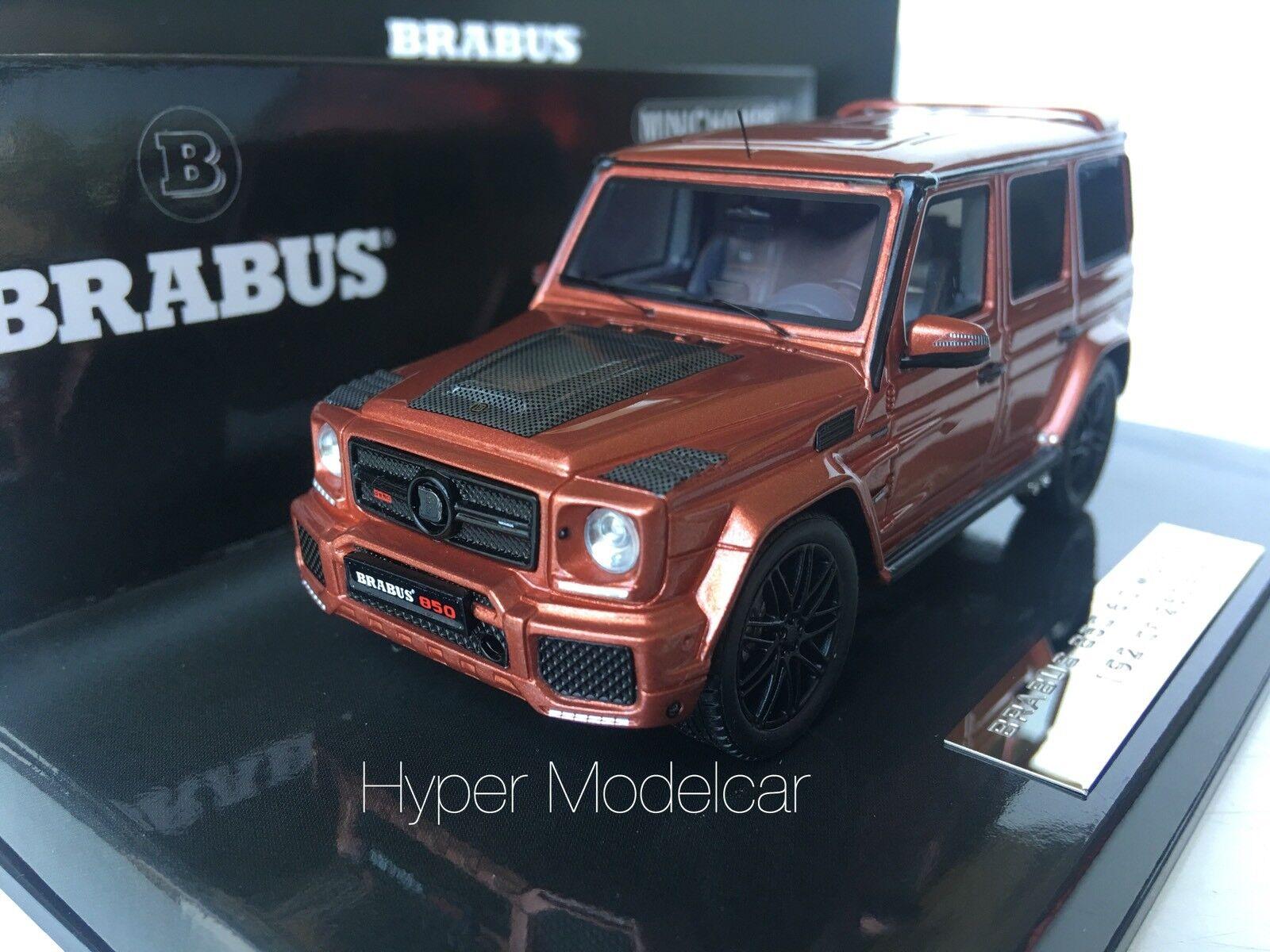 Minichamps 1 43 Mercedes-Benz G-Class G63 6.0 Widestar Brabus 4x4 2016 437032402