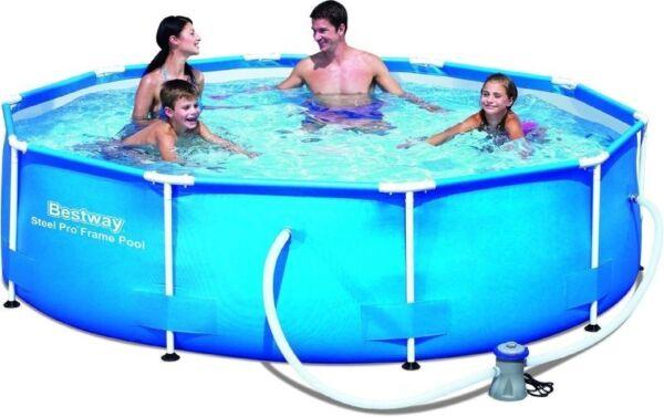 bestway 56408 steel pro frame pool mit pumpe ebay