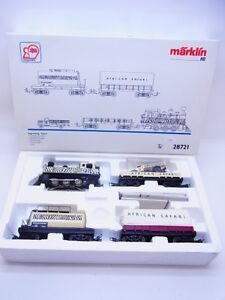 51869-Neuwertige-Maerklin-H0-28721-Zugpackung-034-Safari-034-5-tlg-digital-in-OVP