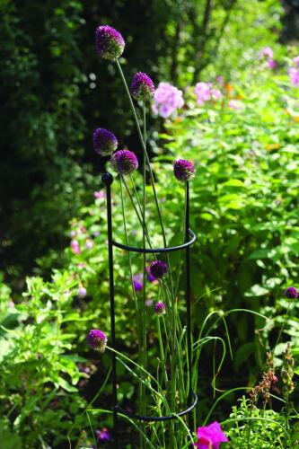 CG012 Garden Flower Supports 2 x Plant Support Columns Shrub Trellis Frame