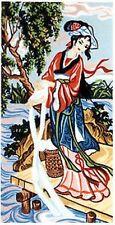 Oriental Wash Day Tapestry Canvas (50cm x 26cm) Gobelin L 36.354