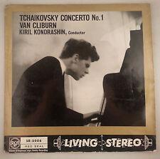 Tchaikovsky: Concerto No. 1/Van Cliburn-UK RCA Living Stereo SB2006/LSC2252 VG