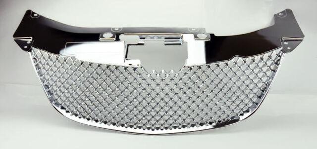 Chrysler Sebring 07-10 Chrome Honeycomb Mesh Front Bumper Hood Grill