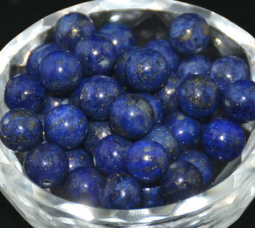 "Round Natural Stone Loose Round Spacer Beads Gemstone Making Jewelry Strand 15/"""