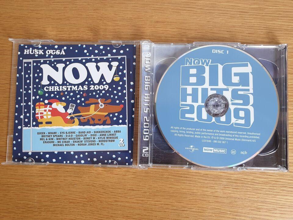 Diverse Kunstnere: Now Big Hits 2009 (Dobbelt Album),