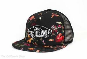 9fbf823b586 Image is loading Vans-Classic-Patch-Death-Bloom-Trucker-Hat-Womens-