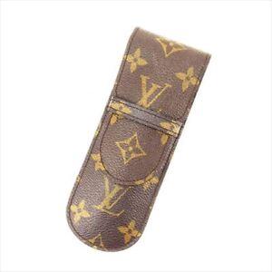 Louis-Vuitton-pencil-case-Monogram-Brown-Woman-Authentic-Used-Y2596