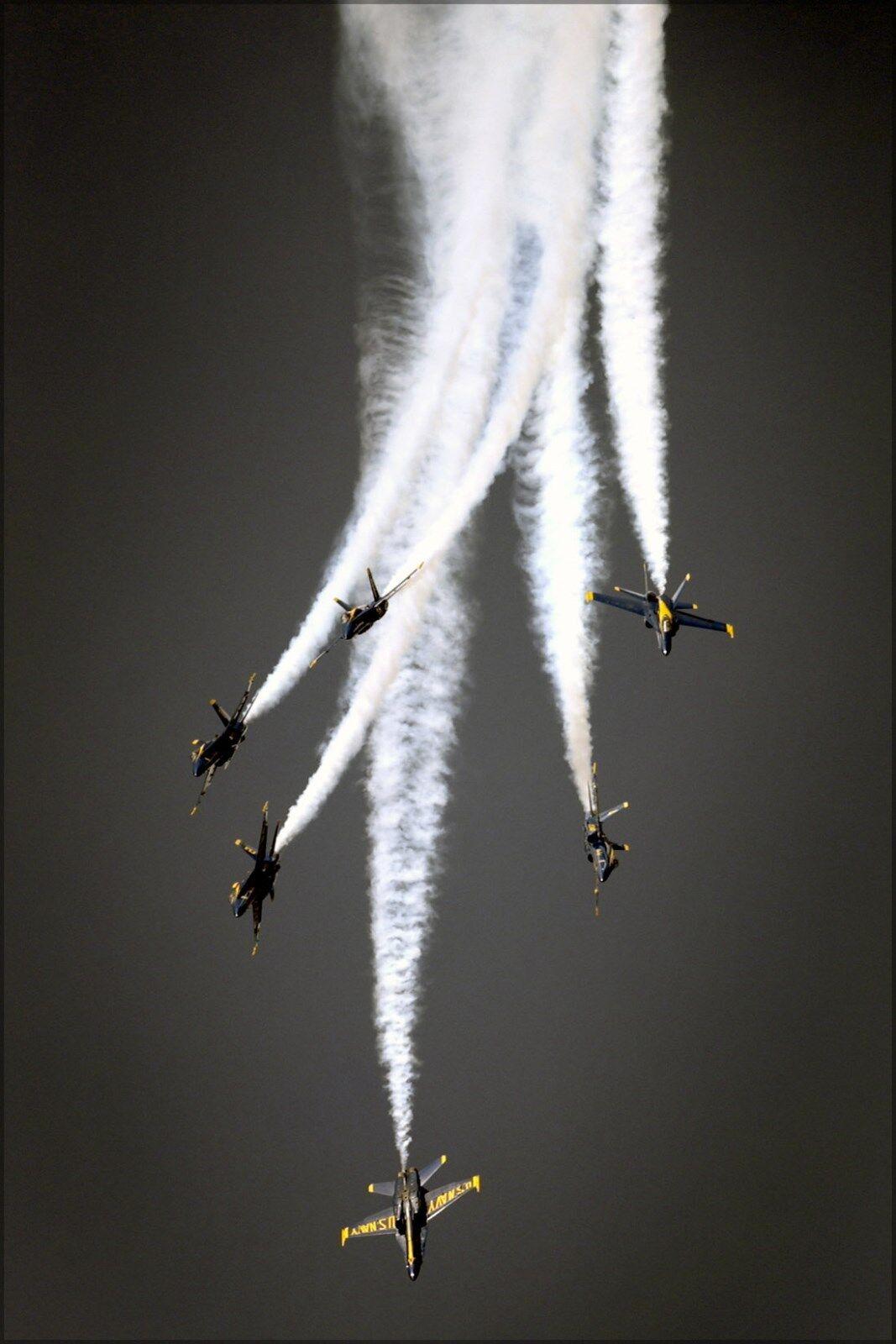 Plakat, Viele Größen; THE U.S.Navy's Flug Demonstration Team Blau Angels,