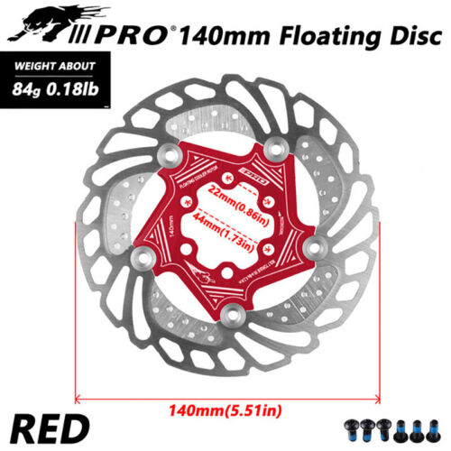 140//160//180//203mm Rotor MTB Bike Floating Disc Brake Rotor AL7075 Brake Kit For