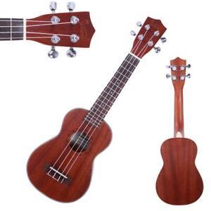 High Grade 21 4 Strings Sapele Soprano Ukulele Ebay
