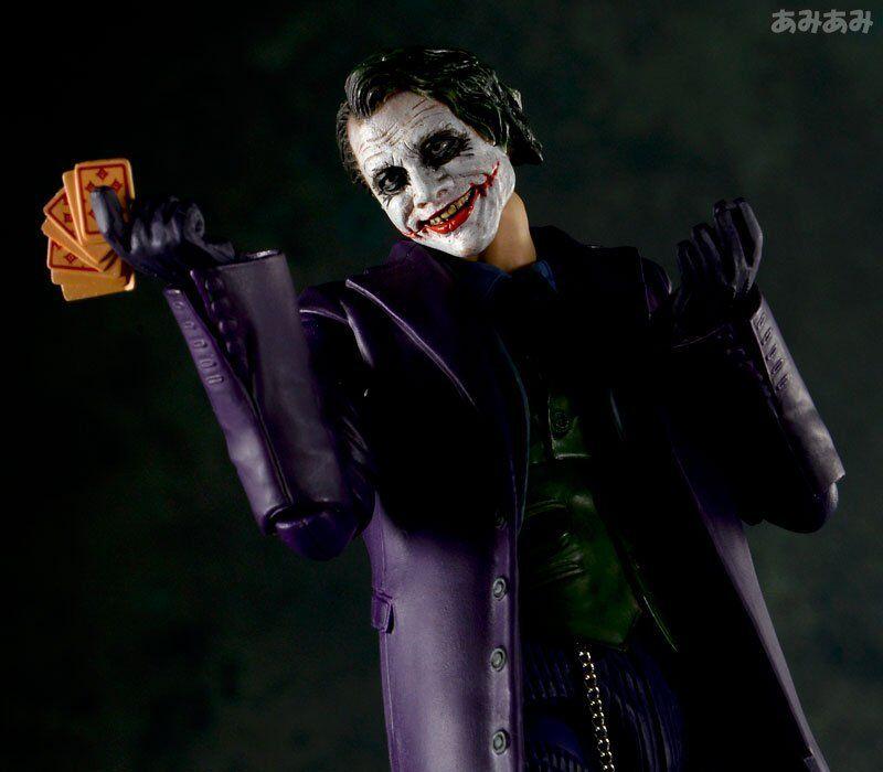 Batman Mafex   005 The Dark Knight El Joker Px Milagro Acción Figura Medicom Juguete