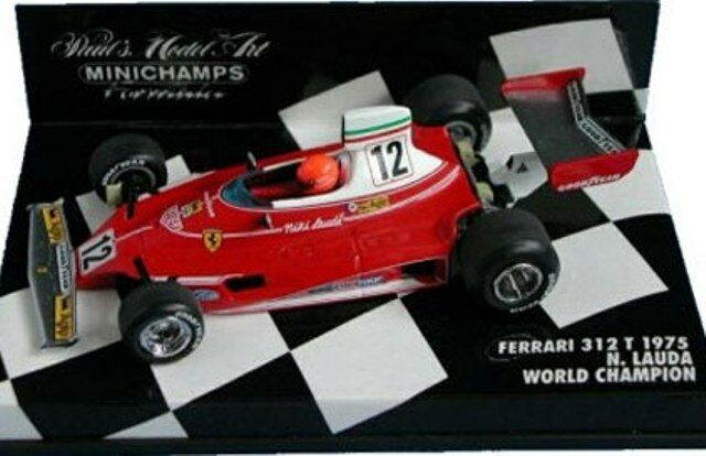 Minichamps Minichamps Minichamps 430 750012 430 940028 Ferrari F1 Modelo Coches WC N Lauda G Berger 1 43 02f6ac
