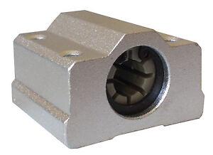 Imprimante 3D 8mm polymer SC8UU portant en aluminium bloc igus drylin RJ4JP-01-08