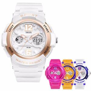 SMAEL-Women-Girls-Digital-Fashion-Sport-Luminous-Analog-Quartz-Waterproof-Watch