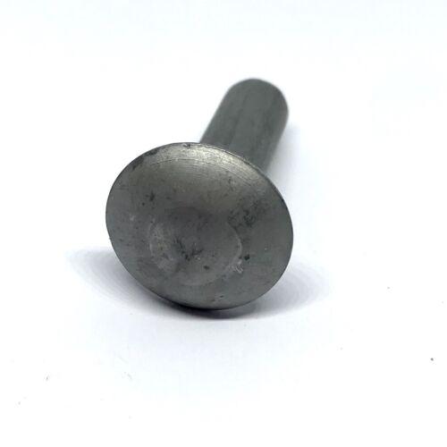 "Pack of 10. 3//8"" x 11//4"" Mild Steel Mushroom Head Annealed Rivets"