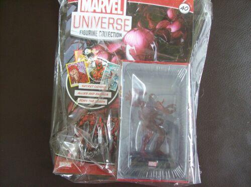 PANINI Marvel univers FIGURINE COLLECTION Nº 40 Carnage