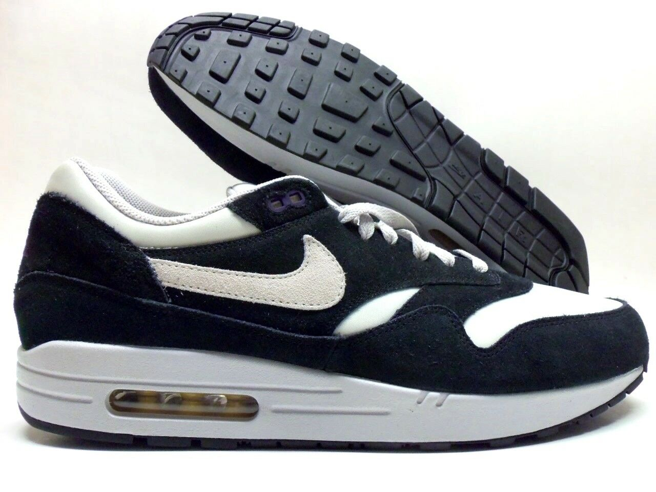NIKE AIR MAX 1 ID BLACK/SUMMIT WHITE-BLACK SIZE MEN'S 13 [433213-998]