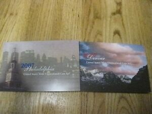 2007-P-amp-D-United-States-Mint-Uncirculated-Coin-Set