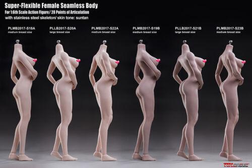 Tbleague Phicen S19B 1:6 Flessibile Gomma Senza Cuciture skeleten abbronzante corpo modello