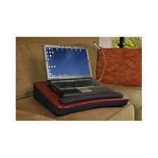 Memory Foam Lap Desk USB Light 18 Inch Laptop Tablet Computer School Home Black