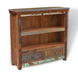 online store 57fd7 48206 Details about RECYCLED RECLAIMED INDIAN WOOD SMALL BOOKCASE / BOOKSHELVES -  SOLID WOOD FURNITU