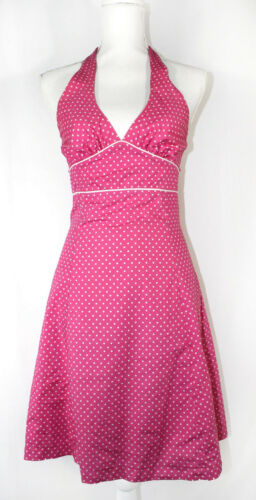Love Life Felice Pappas Pink & White Polka Dot Fit