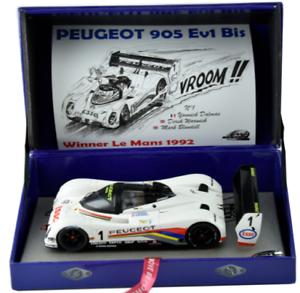 Le Mans Miniatures Peugeot 905 Ev1 Bis Winner 1 32 Slot Car 132023EVO 1M