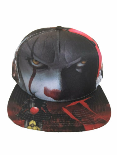 STEPHEN KING/' IT PENNYWISE THE DANCING CLOWN ALL OVER PRINT SNAPBACK CAP