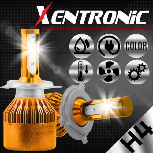 H4 9003 HB2 LED Headlight Kit 200W 20000LM High//Low Beam Head Fog Bulbs