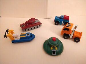 Transformers Original G1 Vintage Takara Lot 5 Minibots Gears Warpath Cosmos