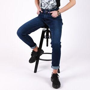 Mile-High-Super-Skinny-Blau-Damen-Jeans-DE-36-US-W28-L32