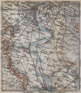 Köln Karte Deutschland.Details About The Rhine Rhein From Von Cologne Köln To Nach Bonn Deutschland Karte 1926 Map