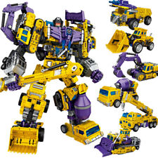 Deformation toy NBK digger G2 color yellow hercules combination