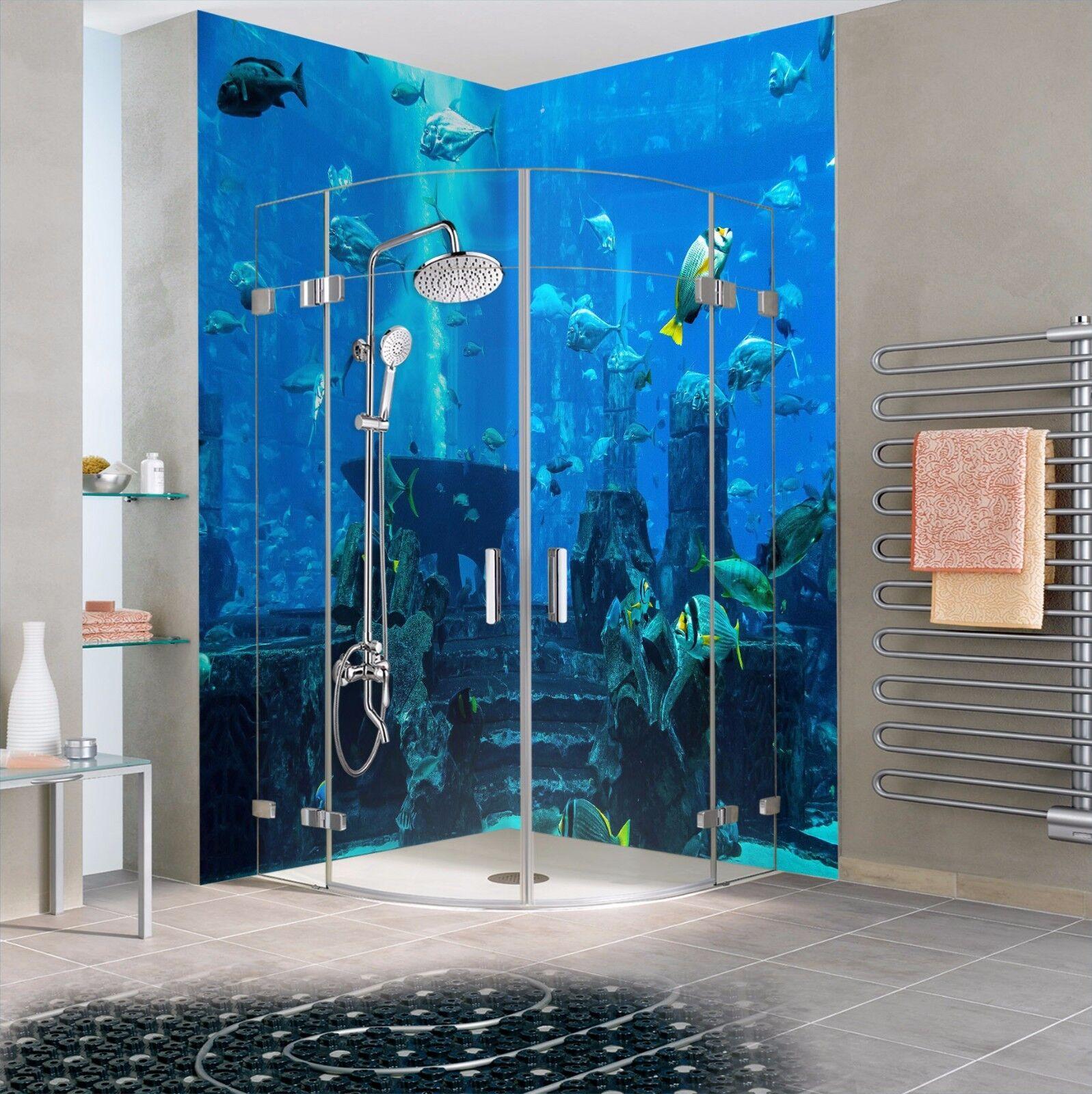 3D Seafloor 7081  WallPaper Bathroom Print Decal Wall Deco AJ WALLPAPER AU