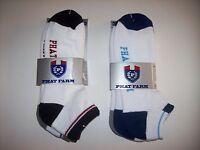 Phat Farm Socks Mens Select Color Style Low Cut No Show 3 Pair Per Pack Nip