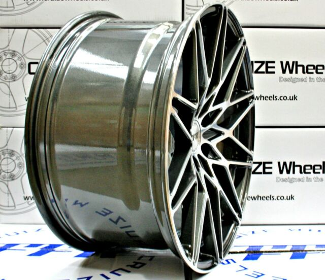 """ALLOY WHEELS X 4 19"""" CRUIZE FR1 GMP FIT FOR MERCEDES S CLASS W220 W221 W222"""