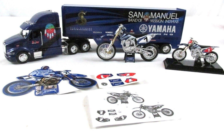 protección post-venta San Manuel James Stewart Yamaha JSE L&m L&m L&m equipo YZ450F Racing Bicicleta Semi Camión RARO  disfruta ahorrando 30-50% de descuento