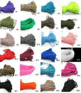 100ft-Paracord-Rope-7-Strand-Parachute-Cord-Survival-CAMPING-Hiking