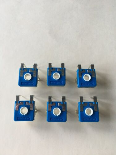"6 Harman 100k Pellet or Coal Stove Control Potentiometers w// /""Instructions/"""