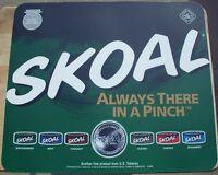 1999 Skoal Plastic Counter Mat 17 X 14.5