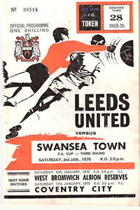 LEEDS-UNITED-v-SWANSEA-TOWN-NOW-CITY-3-JAN-1970-PROGRAMME-FA-CUP-3rd-ROUND