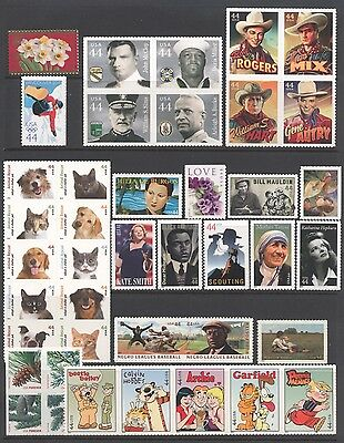 2010 U.S. COMMEMORATIVE YEAR SET *41 STAMPS* MINT-NH